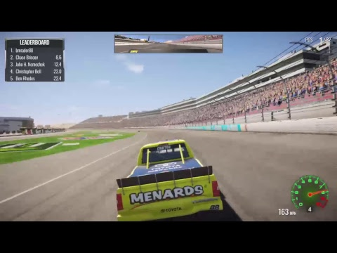 Nascar Heat 2 Truck series @ Las Vagas Full race