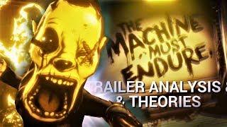 BATDR Full Gameplay Trailer Analysis & Theories (Bendy & the Dark Revival Theories)
