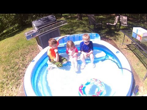 Intex Swim Center Family Lounge Pool Review Inflatable Pool Review 2019