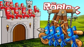 Roblox | RED VS BLUE ARMY WAR - Totally Accurate Battle Simulator! (Tabs in Roblox)