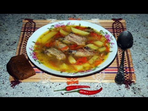 Как приготовить гороховый суп с ребрышками свиными