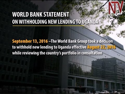 World Bank suspends new project funding to Uganda pending a progress review