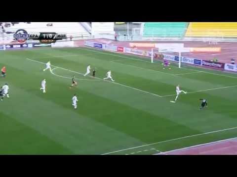 Голевой момент Павла Мамаева в матче 21 тура «Краснодар» - «Мордовия»