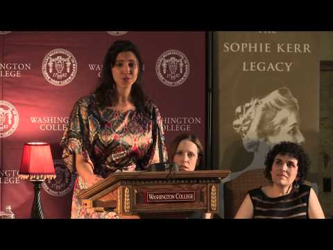 2013 Sophie Kerr Prize - Worlds Largest Undergraduate Literary Award