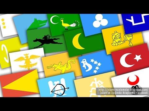 Eski Türk Devletleri Bayrakları (20 Bayrak)