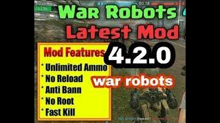 WAR ROBOTS v4 2 0 MEGA MOD APK   UNLIMITED  AMMO