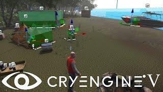 Cryengine V/5#63 Создание укрытий ведения боя для АИ персонажа (бота, НПС)