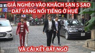 """Giả Nghèo Vào Khách Sạn 5 Sao """"Dát Vàng""""  Nổi Tiếng Và Cái Kết - HuyLê (Gãy TV Phiên Bản Việt Nam)"""