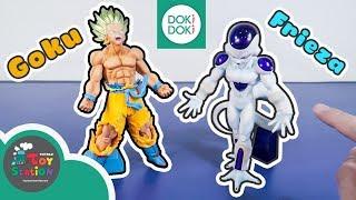 Mô hình Dragon Ball tuyệt đẹp Songoku, Frieza và trứng Gacha Gacha ToyStation 290