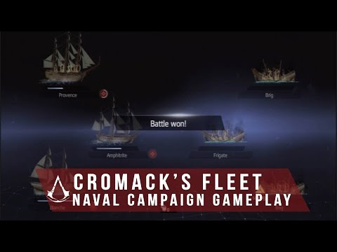 "Assassin's Creed Rogue - ""Naval Campaign"" Cormac's Fleet Missions (Gameplay)"