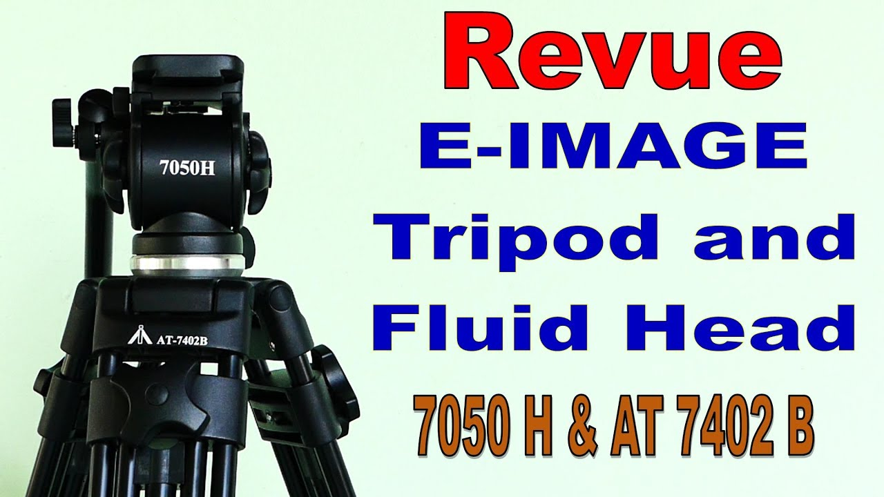E Image Tripod Fluid Head Review And Unboxing Youtube