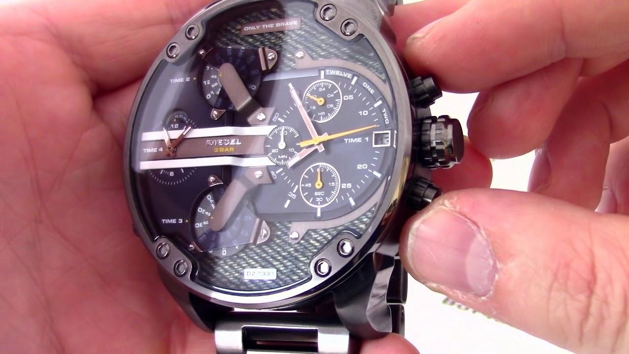 10ef52db333a Часы Diesel DZ7331 - видео обзор от PresidentWatches.Ru - YouTube