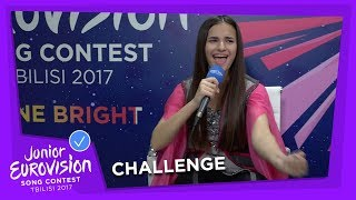 GUESS THE LANGUAGE CHALLENGE - JUNIOR EUROVISION 2017
