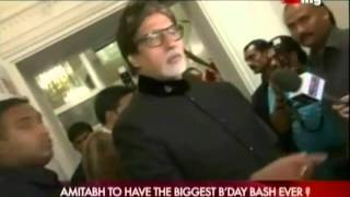 Amitabh To Have The Biggest B'day Bash Ever