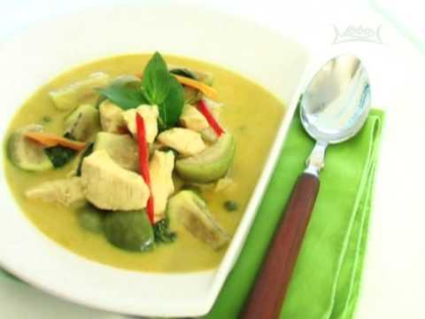 สูตรอาหารไทย: แกงเขียวหวานไก่ โดย Lobo