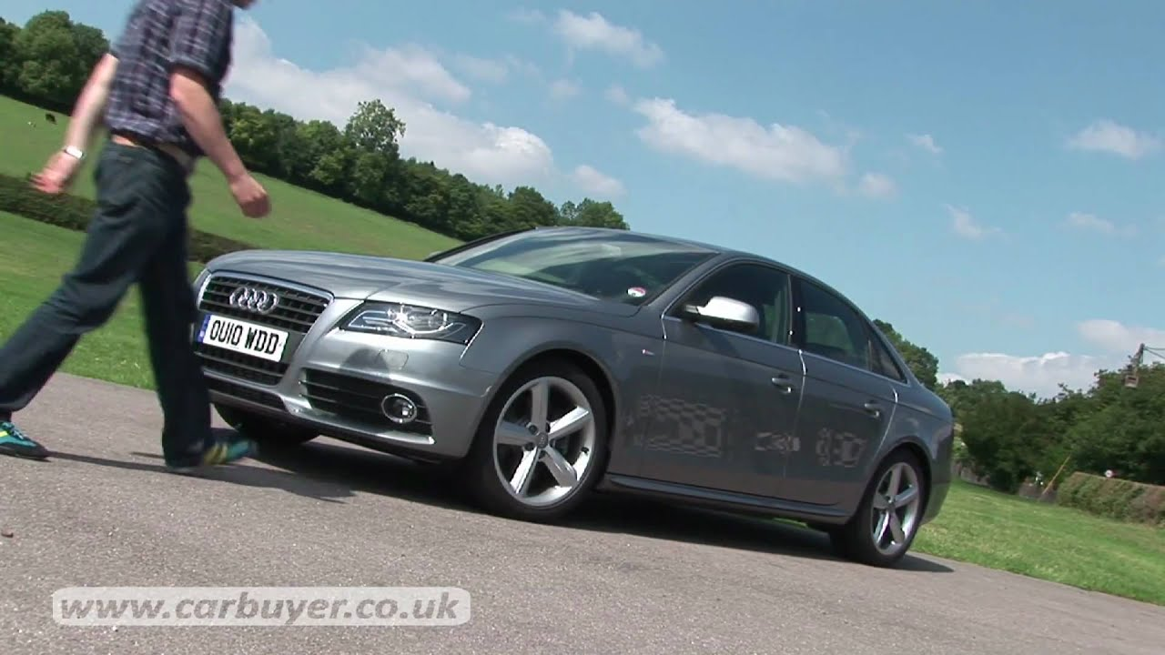 audi a4 2008 2011 review carbuyer youtube. Black Bedroom Furniture Sets. Home Design Ideas
