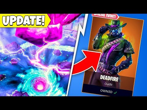 FORTNITEMARES HAS CHANGED THE META! (Fortnite Update, Port-a-Pirateship, Cube)