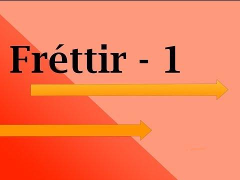 Fréttir - 1
