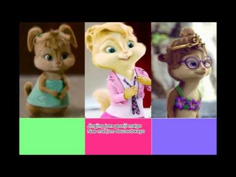 The Chipettes - What's your Name (4minute) with lyrics