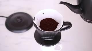 Pour-Over Coffee using the Chantal Artisan Coffee Set