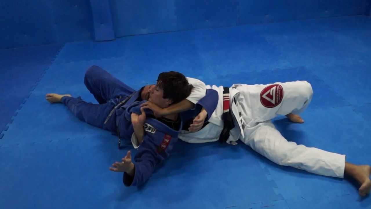 jiu jitsu tecnicas de estrangulamento