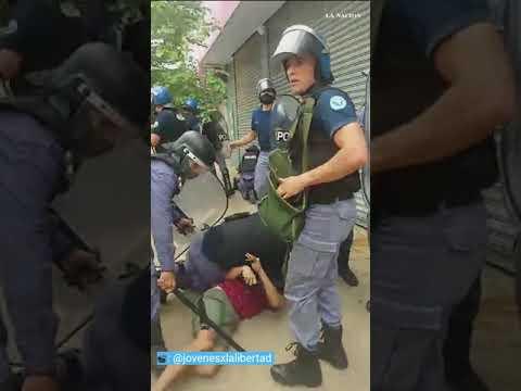 Videos: así fue la represión contra manifestantes en Formosa