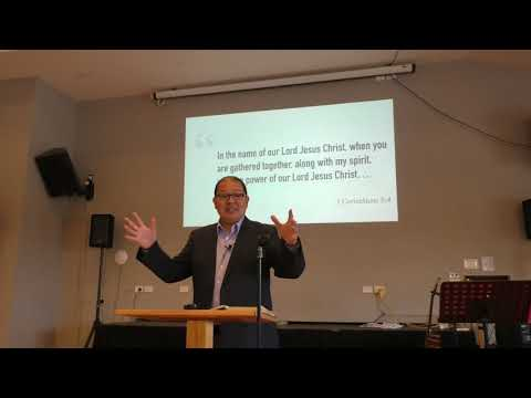 Part 2 of 3 Message Series on the letter of 1 Corinthians 5:1-8 March 11 2018