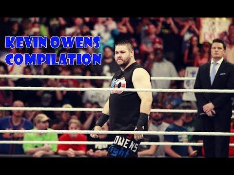 [WWE] Kevin Owens-Frog Splash & Pop Up Powerbomb Compilation