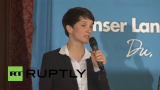 Germany: AfD hold rally in Munich beer hall that launched Hitler's career