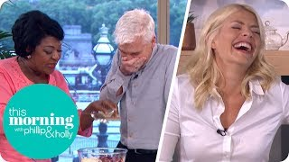 Rustie Lee Has Holly and Phillip in Stitches! | This Morning