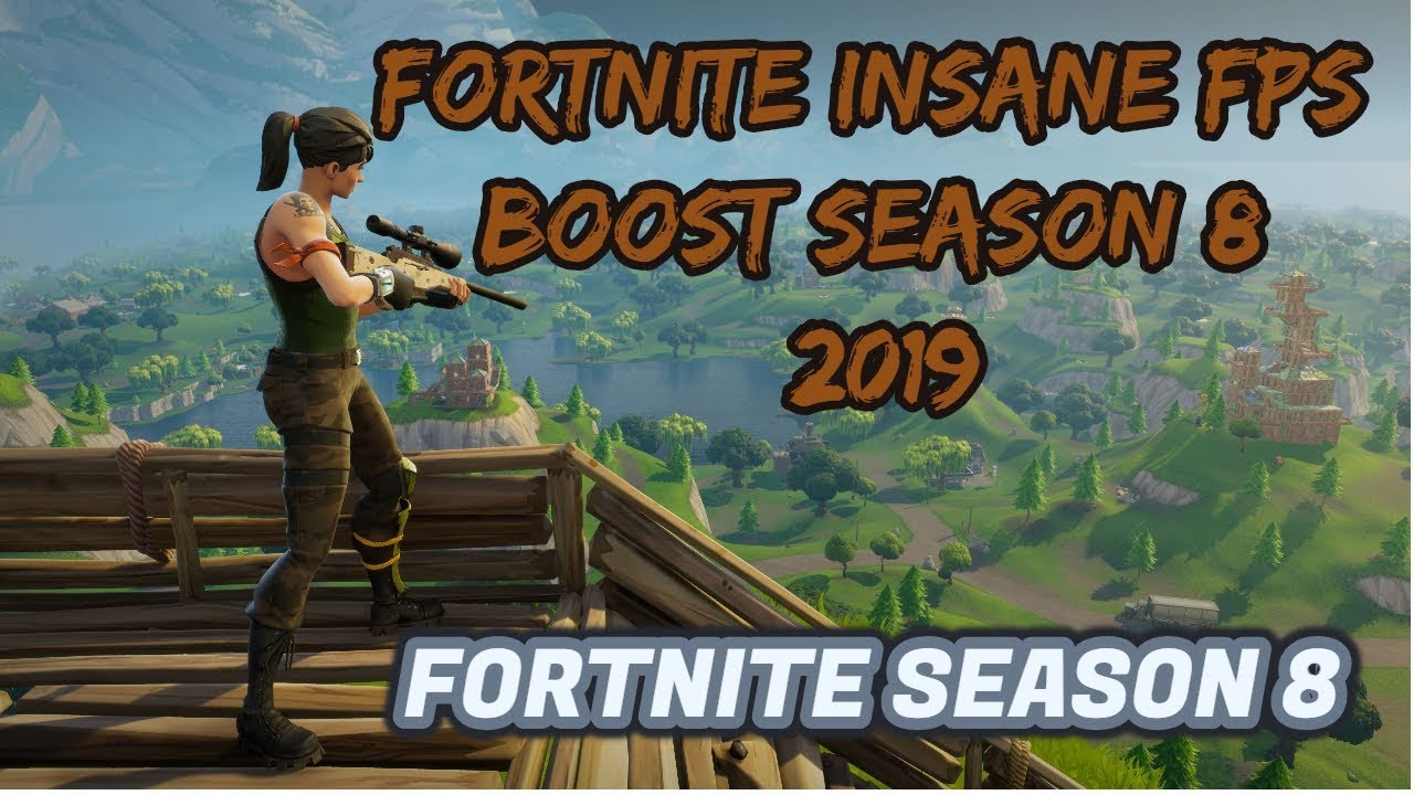 *FORTNITE*SEASON 8- FPS BOOST FOR LOW END PCs AND LAPTOPS