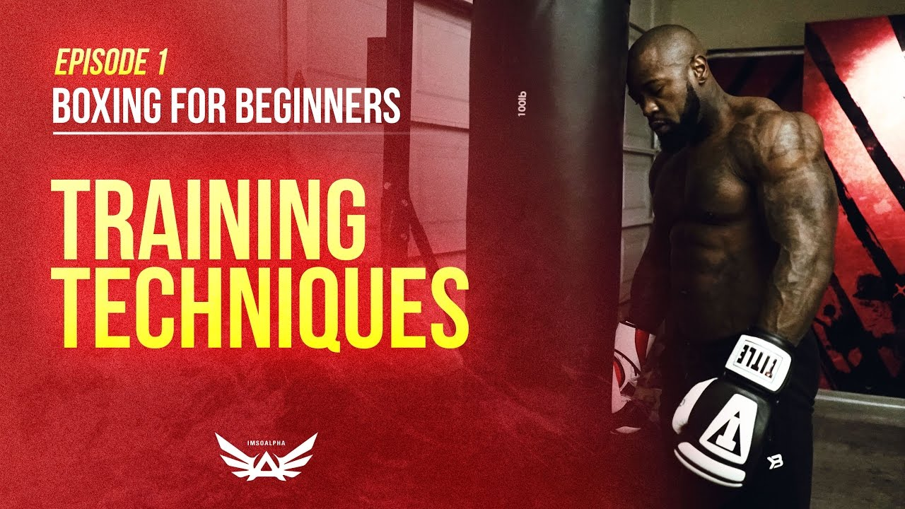 Boxing for beginners | Training techniques Episode 1