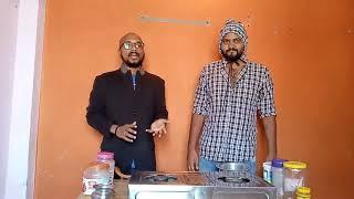 Funny cooking in marathi kolhapuri   cooking in lockdown funny   abhi rokde