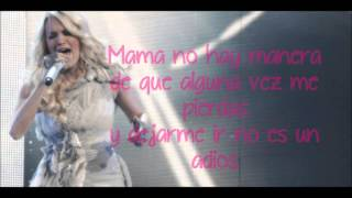 Carrie Underwood - mama