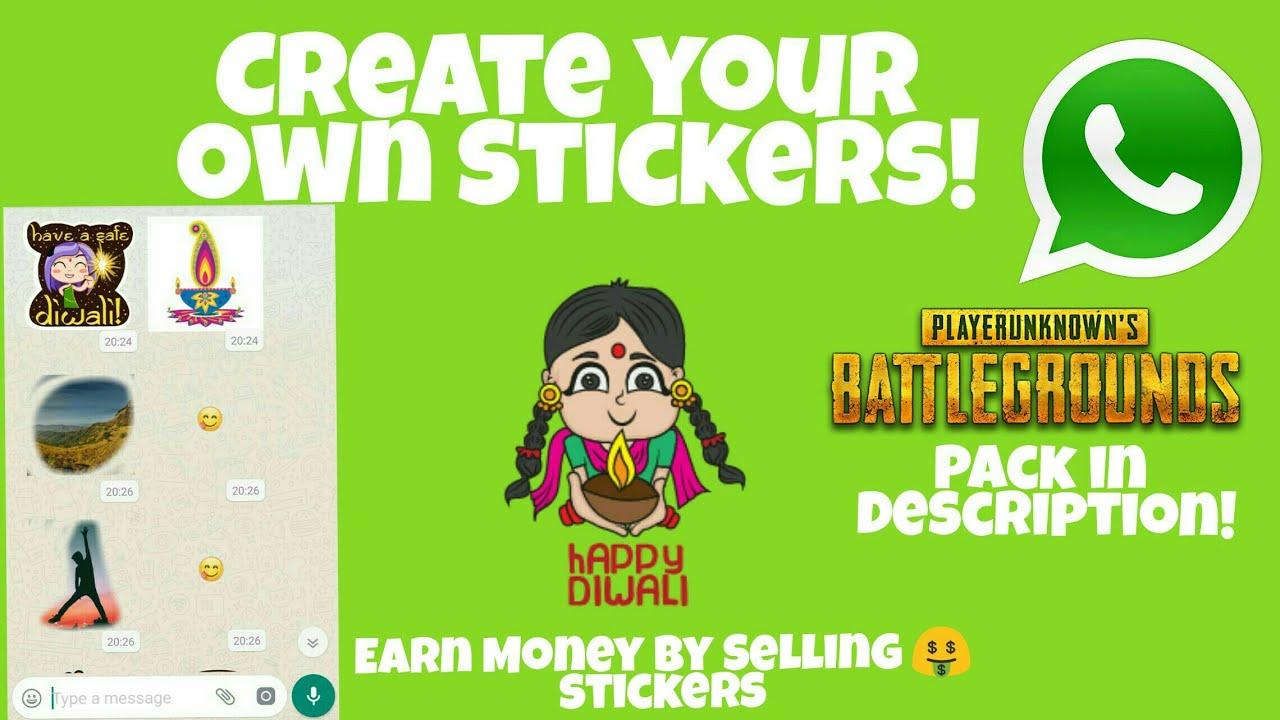 Whatsapp stickers pubg