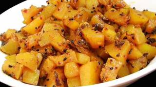 Andhra Recipes - Gummadikaya Koora - Pumpkin Curry - Indian Telugu Vegetarian Food