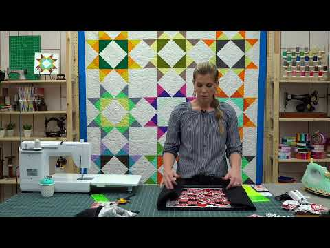 REPLAY:: Create a Fabric Checkerboard with Misty