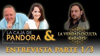 Luis Palacios y Yolanda Soria de Caja De Pandora en entrevista interesante por Javier Sampayo 1/3