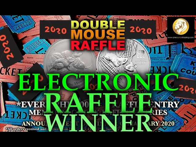 2020 Double Mouse Raffle Winner