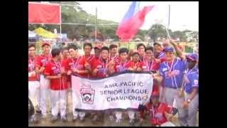 Aspac 2013 Senior League Baseball Highlights Philippines Vs CNMI