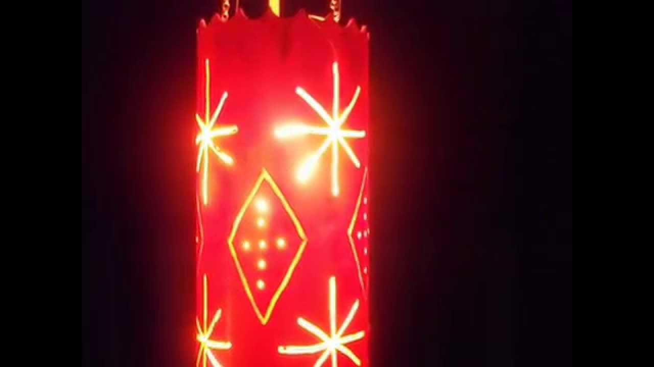 Lamparas en pvc youtube - Pantallas de pergamino para lamparas ...