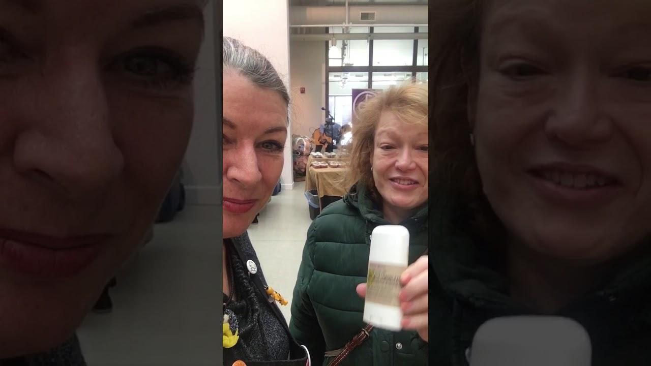 Three Bees deodorant testimony