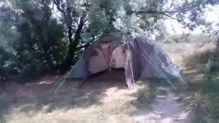 Отдых с палаткой у моря. Кучугуры. Очень красивое место.(В июне 2016 года останавливался на несколько дней с палаткой на берегу азовского моря в поселке Кучугуры., 2016-07-19T16:10:58.000Z)
