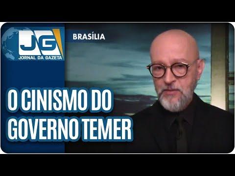 Josias de Souza/O cinismo do governo Temer