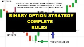 Binary options strategy - Complete strategy rules 2018
