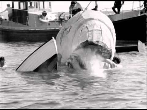 Mechanical Shark In Midst Of Holiday Makers - 1961