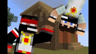 MineCraft [Квест] - Шикарная шляпка и наш домик с: