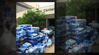 Moore, OK disaster relief effort by Evans Middle School & Wo