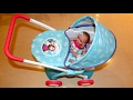 Disney Frozen Dolls Pram Baby Annabell Lil Cutesies Little girl and Baby Dolls Playtime