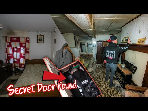 WE FOUND AN UNTOUCHED HOUSE FROZEN IN TIME !   SECRET ROOM FOUND UNDER THE STAIRS 